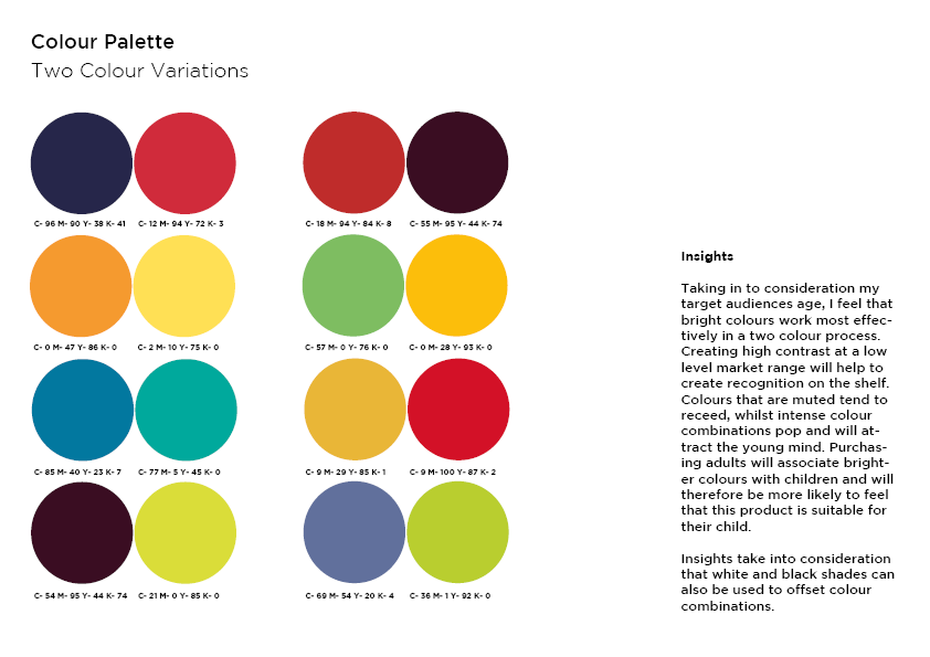Week 8 Task 6b Colour Palettes Andrew Flint Design Chronicles